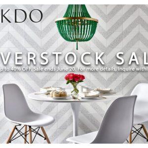 AKDO Overstock Sale