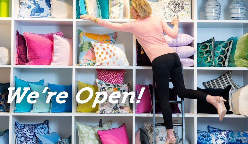 We're Open Again!