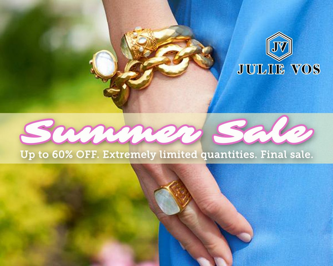 Julie Vos Summer Sale