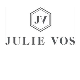 Julie Vos Logo | Brands We Carry at Dwelling & Design in Easton, Maryland
