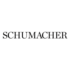 Schumacher Logo | Brands We Carry at Dwelling & Design in Easton, Maryland