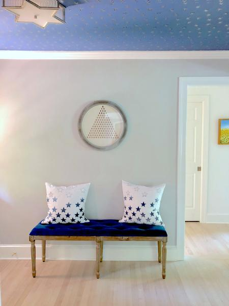 Bright Hues, Playful Patterns and Coastal Comfort in Oxford, MD